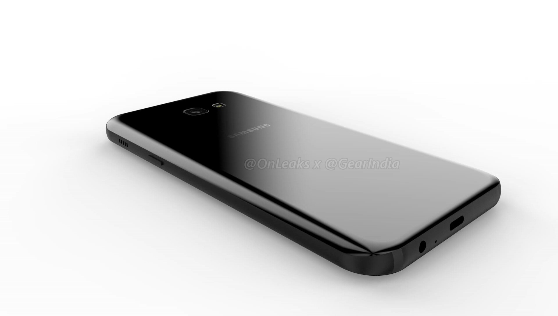 Samsung Galaxy A7 (2017) renders and video leak out