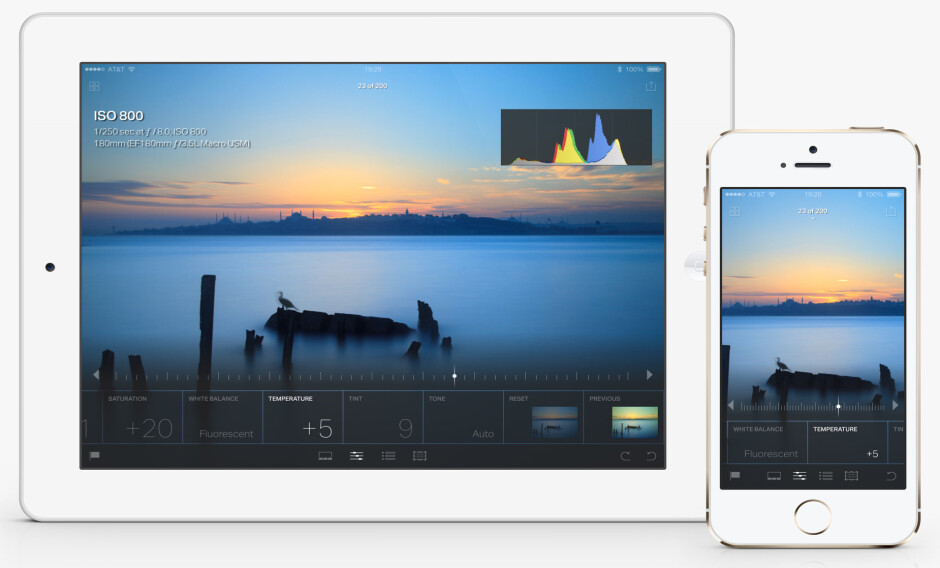 Adobe releases Lightroom 2.6 for iOS featuring new edit interface and info section