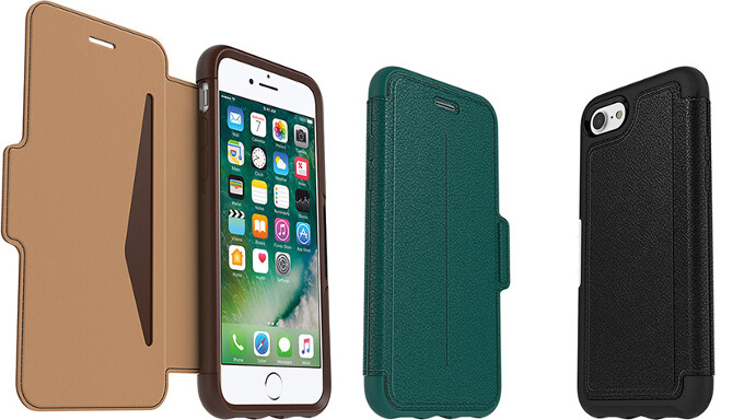 OtterBox Strada folio for the iPhone 7/7 Plus - Late shoppers' gift guide: Smartphone cases