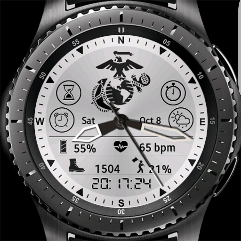 Samsung Gear S3 Watchfaces