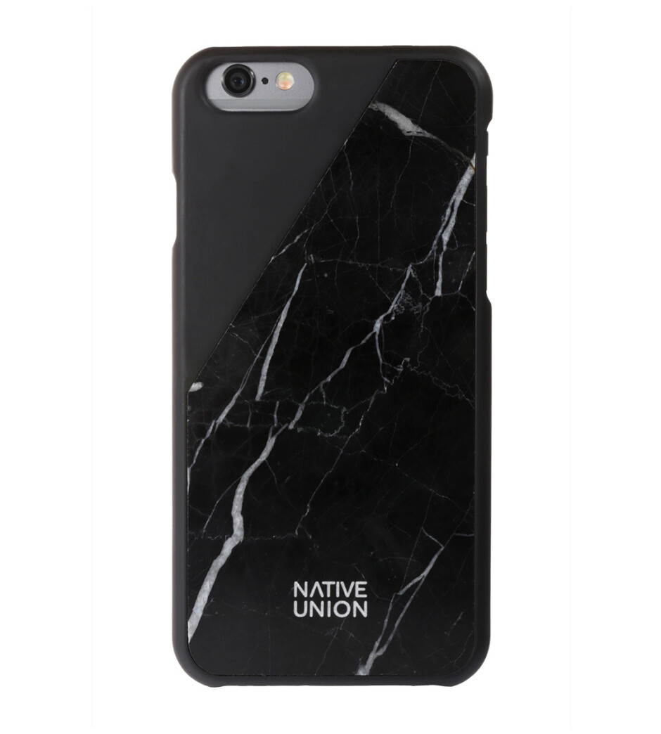 Native Union Marble cases in black and white - Late shoppers' gift guide: Smartphone cases