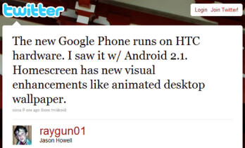 Google says device given to employees is not the gPhone but is a mobile lab