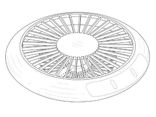 Samsung could build a UFO-like drone