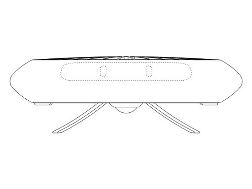 More images from Samsung's patent application - Samsung could build a UFO-like drone