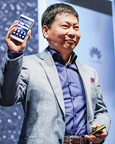 Huawei CEO Richard Yu will speak at CES 2017 - CES 2017: What to expect from Samsung, LG, Sony, Asus, and other top tech brands