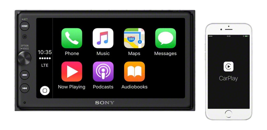 Sony's in-car entertainment system supports Android Auto and CarPlay and costs just $499