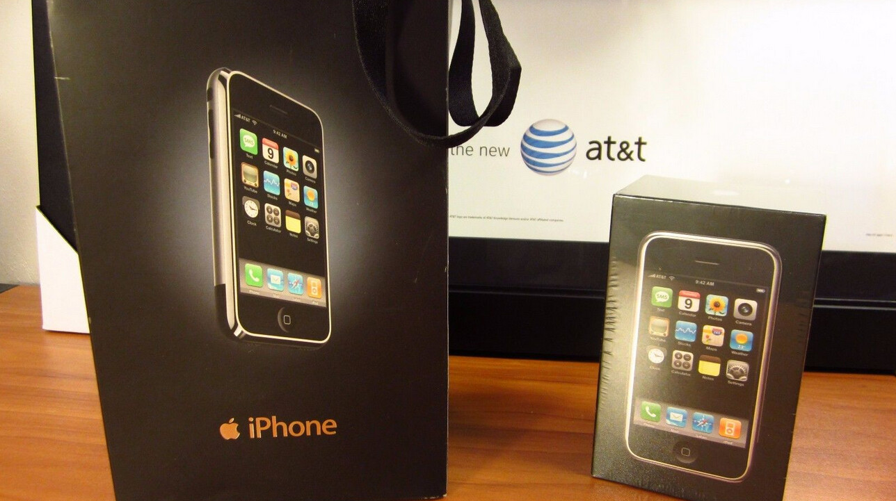 Prices for the original Apple iPhone still sealed in the ...