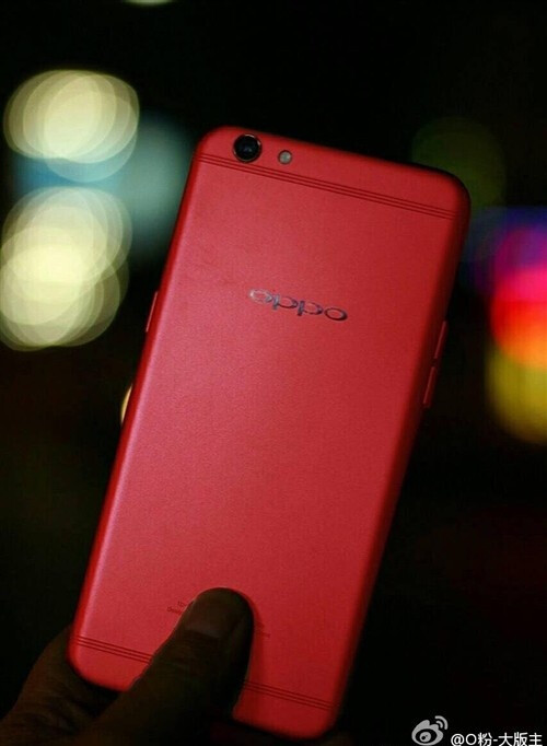 Oppo R9s in new Red color could be headed to the United States