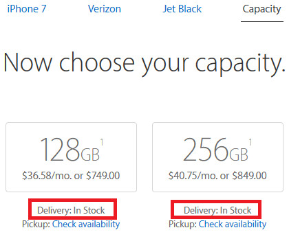 The Jet Black Apple iPhone 7 is in stock at Apple - Back in Black: Apple's iPhone 7 in Jet Black now ships same day from Apple