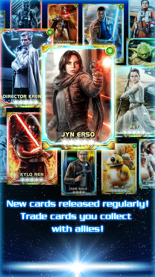 Star Wars Force Collection Guide: Instant Crystals Credits ...