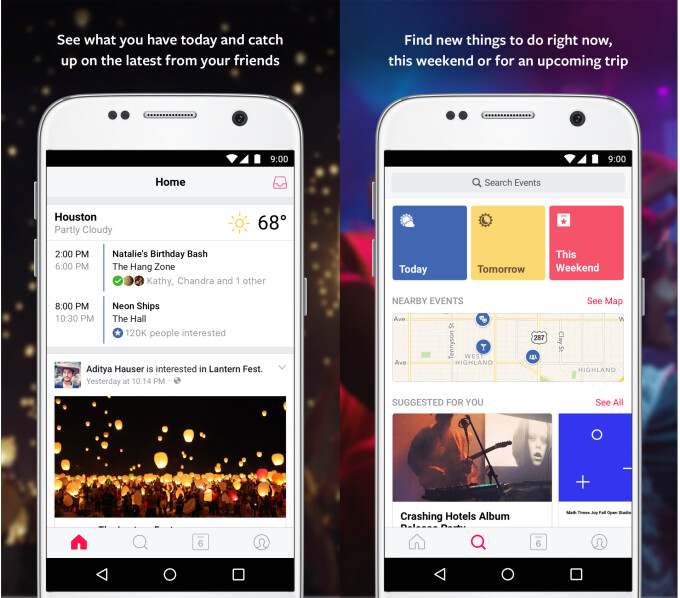Facebook Events app coming soon to Android devices