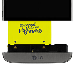 Both the LG G5 (pictured above) and V20 sported removable batteries, but the G6 may break this tradition with a non-replaceable, sealed battery unit