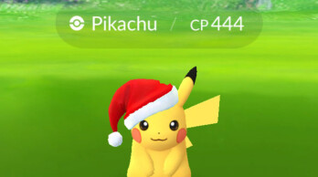 Pokemon Go update: get Pikachu with a Santa hat on
