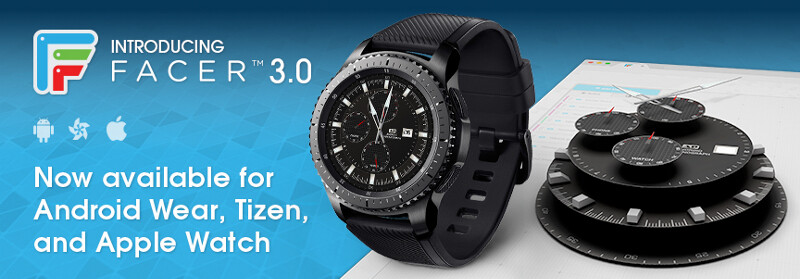 The Facer 3.0 update brings support for the Gear S3, ZenWatch 3, and more