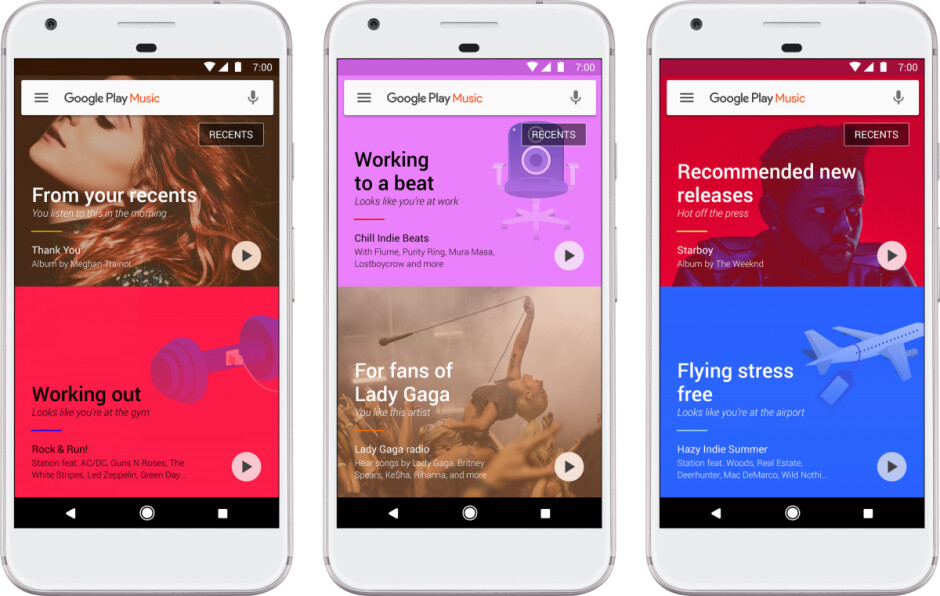 Google Play Music could soon start automatically playing tunes for you