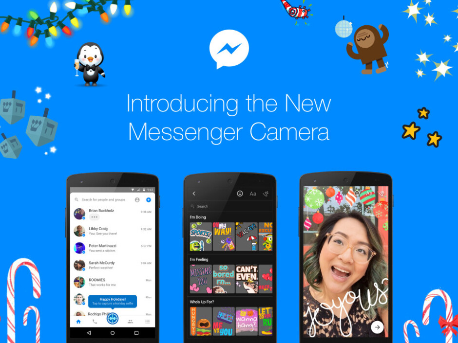 Facebook Messenger gets new, powerful camera effects