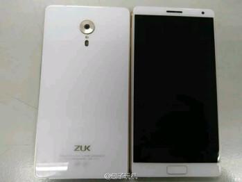 ZUK Edge leak offers close-up of its near edge-less display