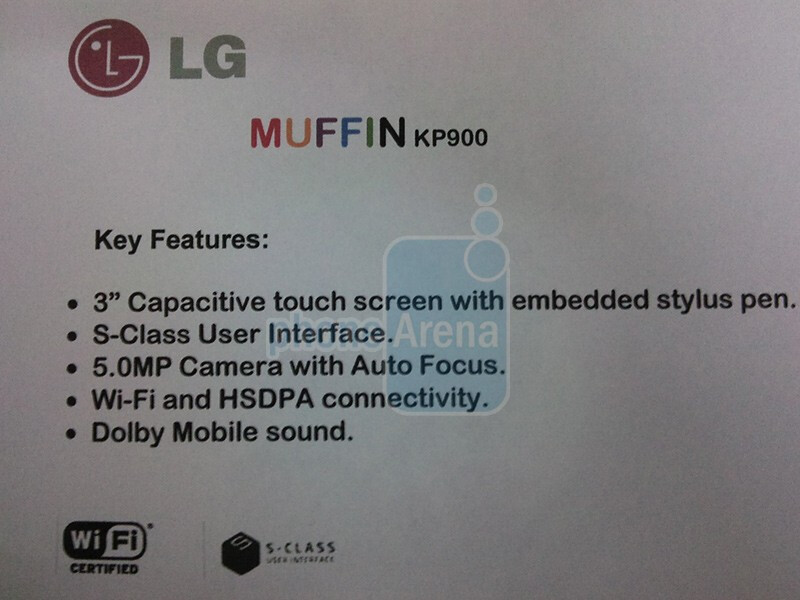 The LG Muffin KP900 - The LG Muffin KP900 is the Cookie 2?