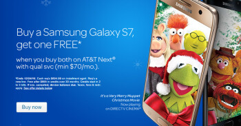 AT&T launches BOGO deals on iPhone 7, Samsung Galaxy S7 and LG G5 in Android Apple AT&T Deal iOS LG Samsung