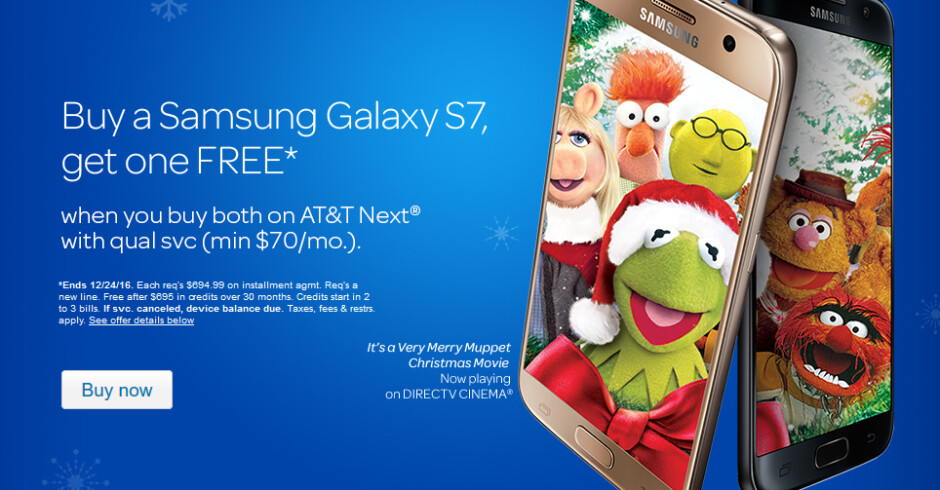 Switch to AT&T and receive up to $695 in monthly bill credits toward a BOGO deal - Switch to AT&T and get BOGO deals on the iPhone 7, the LG G5 and the Galaxy S7