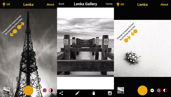 Spotlight: Lenka is a dead-simple but exceptional black and white camera app for iOS & Android