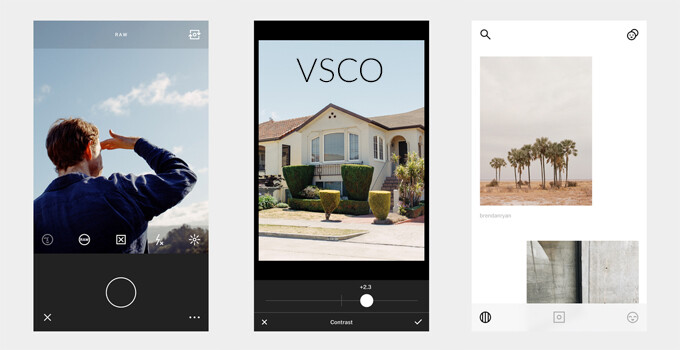 Photo editing app VSCO updated with RAW image support on iOS