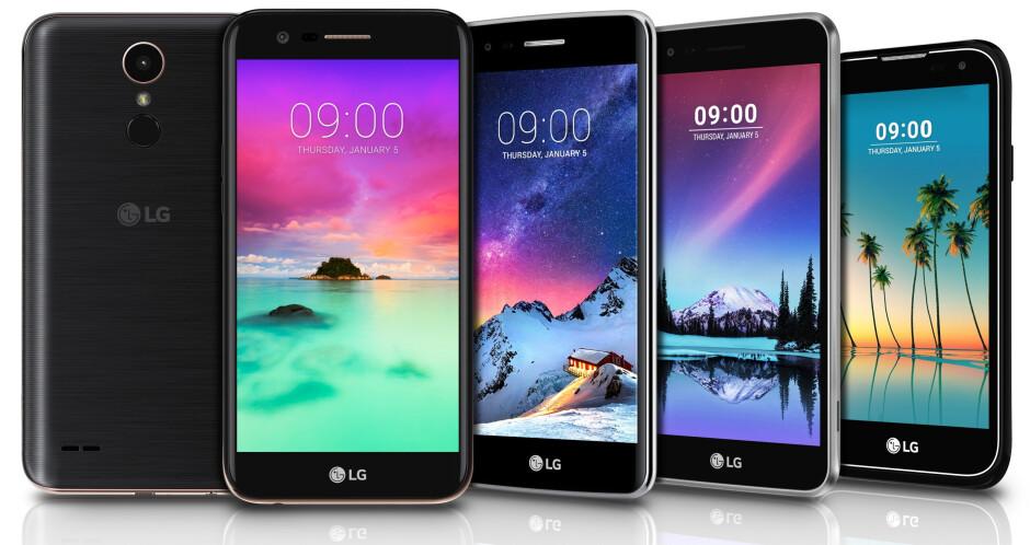 LG announces the Stylo 3 (Stylus 3), plus new K10, K8, K4, and K3 smartphones
