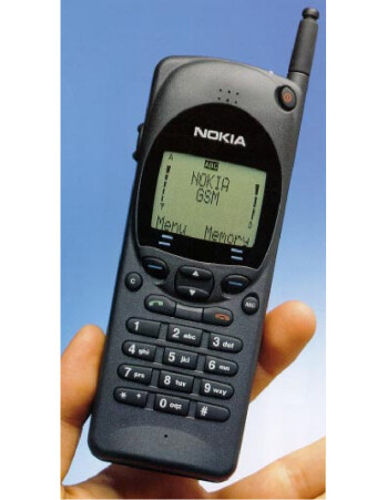 The Nokia 2110 was one of the first popular 2G phones
