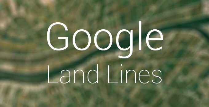 """Google's new experiment """"Land Lines"""" turns your scribbles into mesmerizing satellite imagery"""