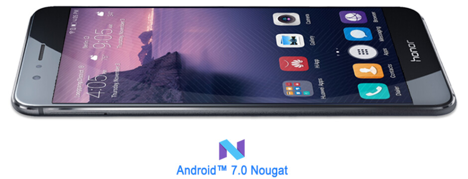 Honor 8 will be updated to Android 7 Nougat (with EMUI 5.0) in February