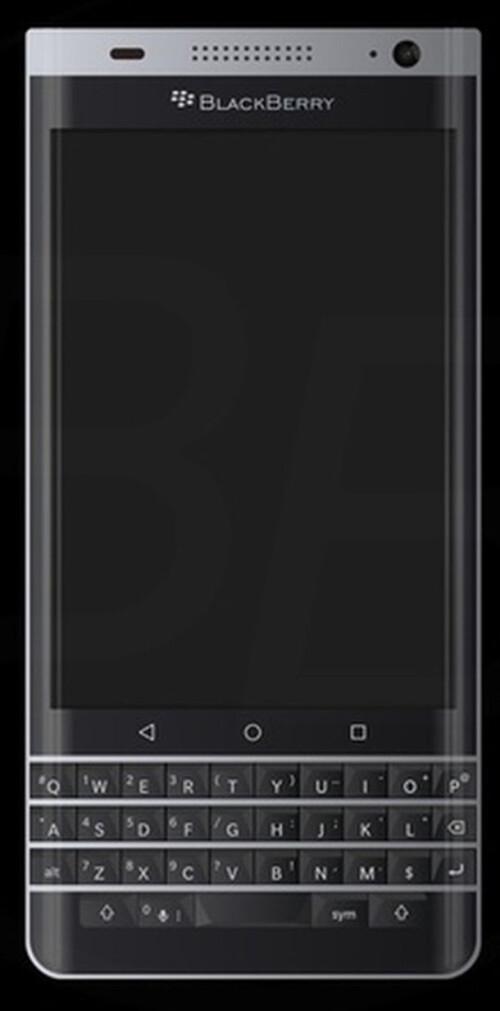 Two renders of the BlackBerry Mercury leak