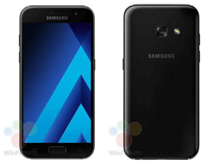 Samsung Galaxy A5 (2017) and Galaxy A3 (2017) press ...