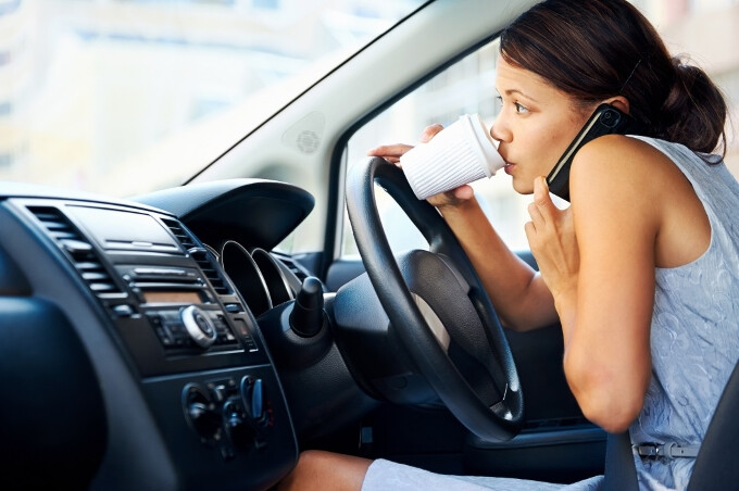 Hands-free calls are just as distracting for drivers, says study