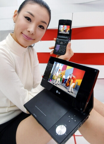 LG plans on unveiling 3 handsets with digital TV features at CES