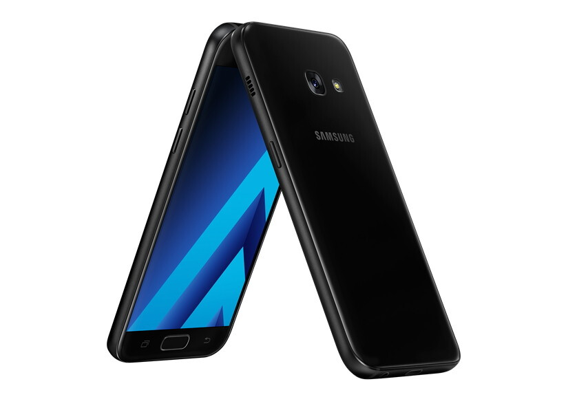 Samsung Galaxy A7 (2017) - Samsung Galaxy A (2017) series introduced with water resistance design, Android Marshmallow