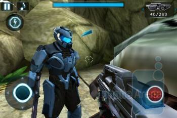 N.O.V.A. - Near Orbit Vanguard Alliance sports beautiful 3D graphics