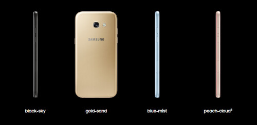 Samsung Galaxy A (2017) series