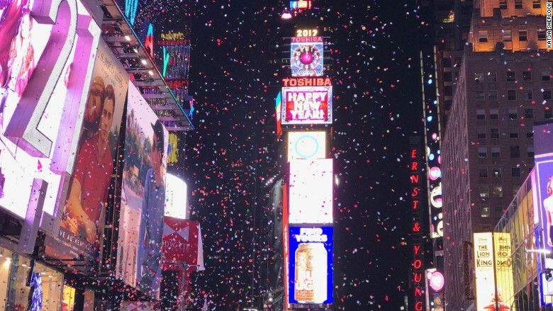 New Year's Eve celebrations through the lens of an iPhone 7