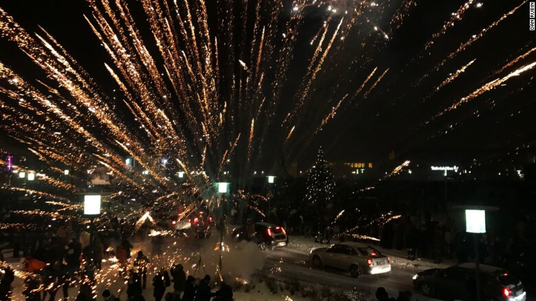 new year s eve celebrations through the lens of an iphone 7