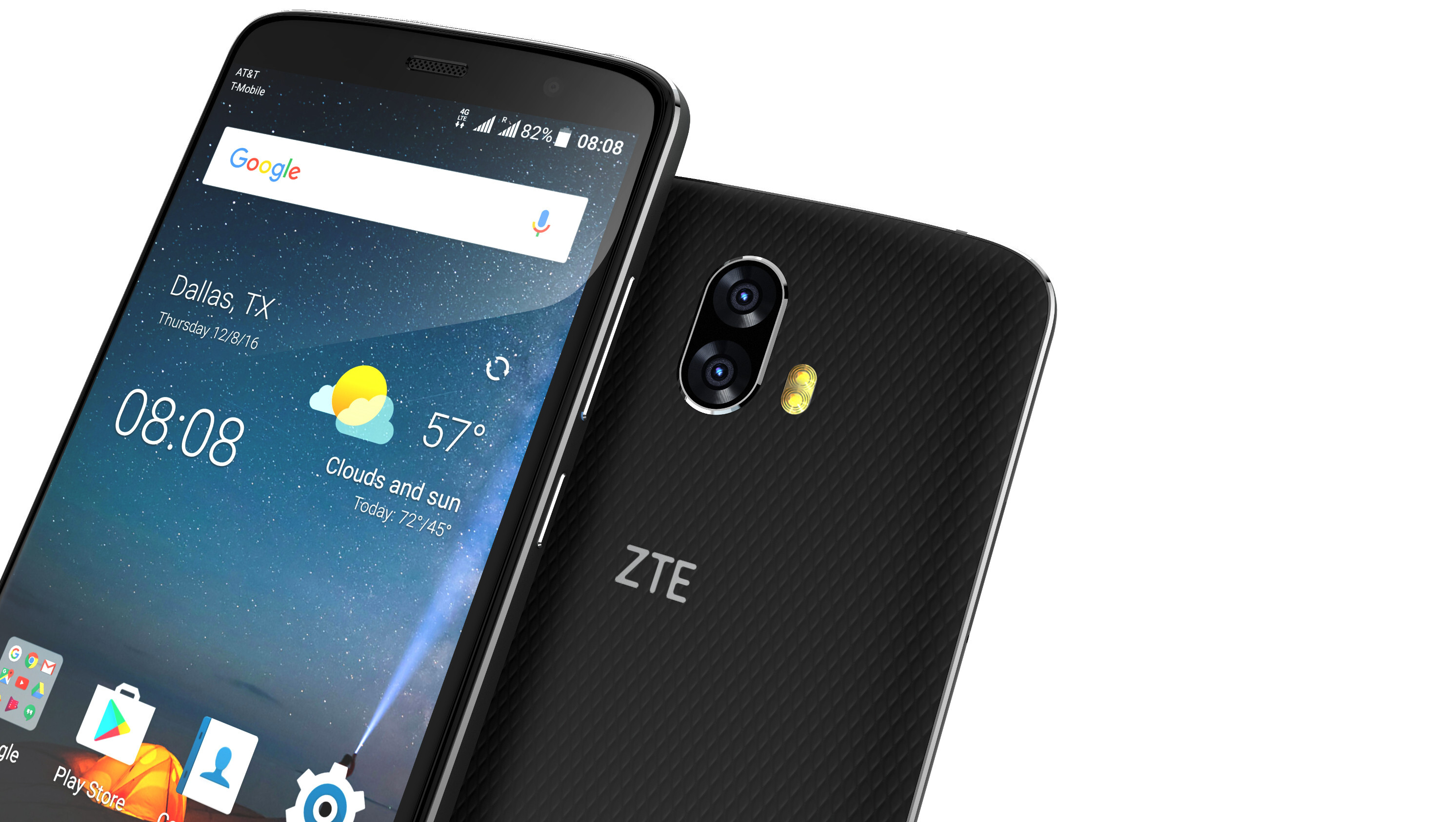 zte blade v8 pro dual camera for cost, Bell