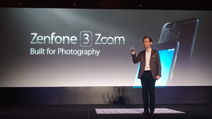 Asus ZenFone 3 Zoom is announced with 2.3X zoom camera and iPhone-like Portrait mode