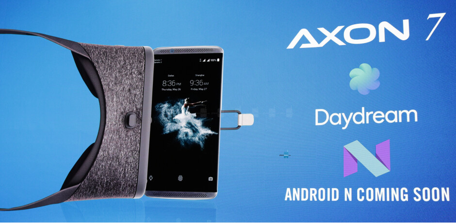 ZTE Axon 7 Android Nougat update coming soon with Google Daydream support