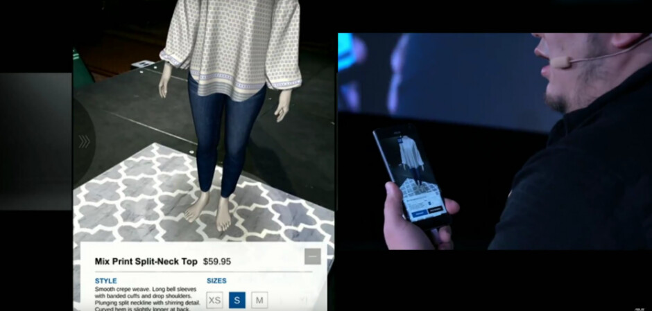 Google Tango is partnering with GAP so you can virtually try on clothes before you buy