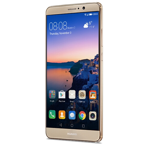 The Mate 9 is unapologetically big and proud of it. - Huawei Mate 9 sales in the U.S. will start January 6, with the phablet priced at $600