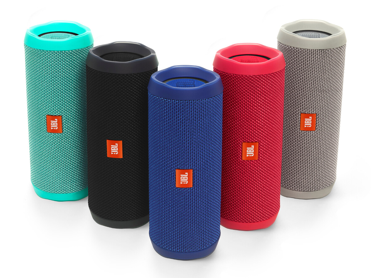 harman intros jbl pulse 3 and flip 4 new portable water resistant bluetooth speakers