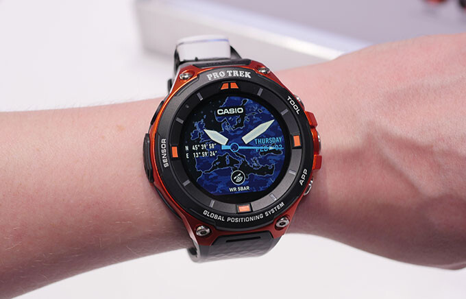 Hands-on with the GPS-enabled Casio Pro Trek Android Wear 2.0 smartwatch