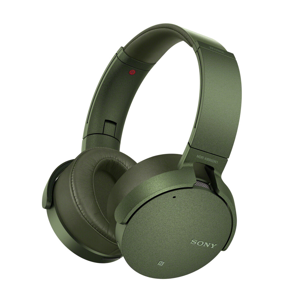 Sony MDR-XB950N1 Extra Bass with active noise cancellation - New Sony Extra Bass headphones and wireless speakers are announced at CES