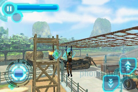 The levels in Avatar look good, but could be more open - Avatar for the iPhone Review