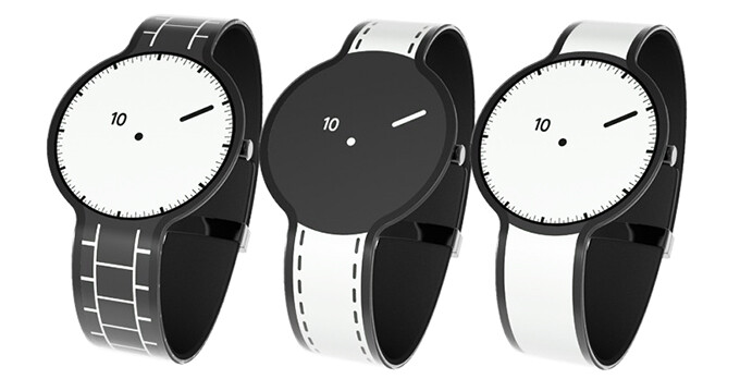 The original FES watch could produce only black and white, but that won't be the case for the second generation - Sony outs second generation of E-ink watches: crazy patterns abound