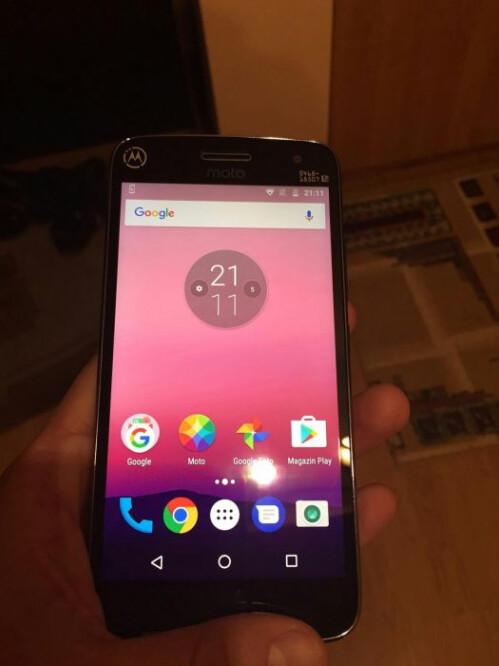 Alleged Moto G5 Plus
